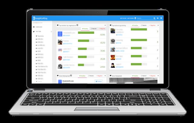 InsightsAtlas Influencer Analysis Dashboard